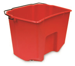DIRTY WATER PAIL 3cs FOR 35QT BUCKETS RED DELAMO SS