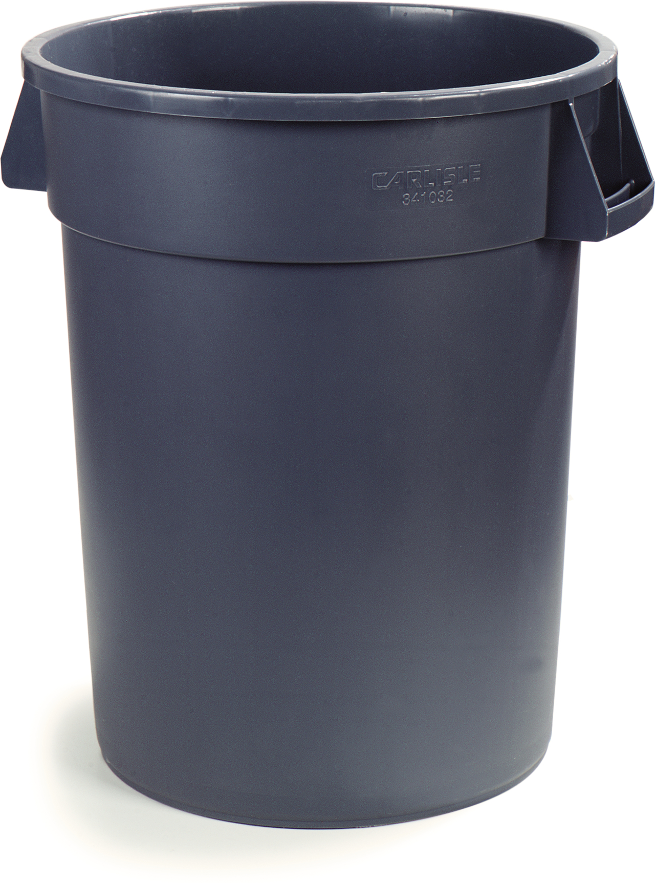 55G ROUND GRAY TRASH CAN BRUTE 2/CS