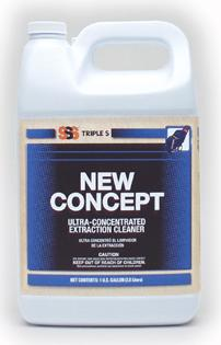 NEW CONCEPT 4CS CARPET EXTRACT CLEANR ULTRA CONC