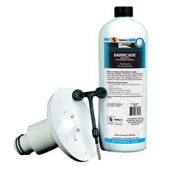 SSS Barricade Odor Sealer Kit, 2/cs WATERLESS