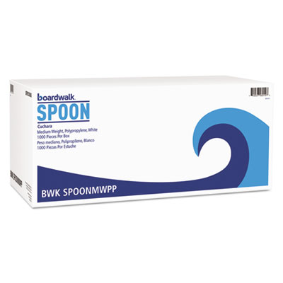 SPOON POLY WHITE MED WHT 1000CS