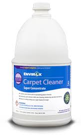 CARPET CLEANER ENVIROX 1G/4CS CONCENTRATE SS