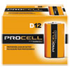 PROCELL D CELL BATTERIES, 12/PK