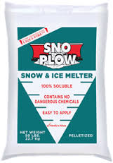 SNOW PLOW 50# BAG ICE MELT L:51 X W:43 X H:34