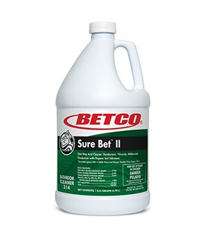 SURE BET™ II 1Gal/4Cs Acid Cleaner Disinfectant